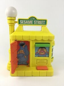 Take A Long Busy House Sesame Street CBS Vintage 1984 Child Baby Toy 80s Toys