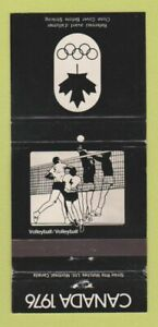 Matchbook Cover - 1976 Olympics Canada Volleyball WEAR 30 Strike