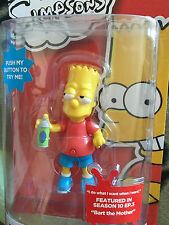 The simpsons 25 years  Bart  simpson talking  6 inch  figure  set
