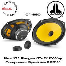 """JL Audio c1-690 - C1 gamma 6 """"X 9"""" 2-way AUTO componente Scaffale / PORTA oratori 225W"""