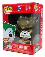 Funko Pop #375 Gold Metallic The Joker Imperial Palace Funhouse Custom 1/20