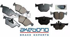 For BMW E90 330i 330xi 2006 Front & Rear Akebono Euro Disc Brake Pads Kit