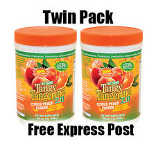 Beyond Tangy Tangerine Twin Pack - 2x 480g Multivitamin Mineral  Exp. Mar 2023