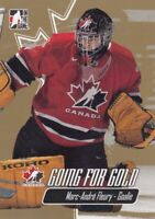 MARC-ANDRE FLEURY NO:27 GOING FOR GOLD in IN THE GAME 2007    a