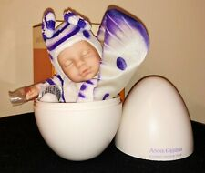 New In Box Anne Geddes Newborn Baby Butterfly Doll in Egg, 2007 Rare