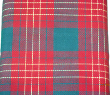 Charles Craft 14 count Christmas Plaid Fabric 2.5 yard bolt