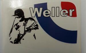 Paul Weller mirror sticker  Mods Vespa Lambretta Scooter Sticker