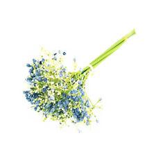 Gypsophila Bundle Artificial 26cm/10 Inches Blue Spring Summer Flower