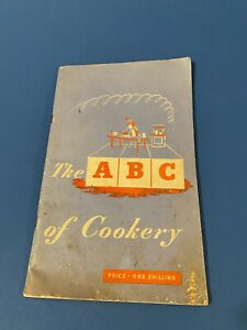 1945 Ministry Of Food War Time ABC Of Cookery Book Make Do Mend Utility