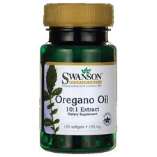 OIL OREGANO EXTRACT 150mg 10:1 - 120 capsules - SWANSON olej z oregano