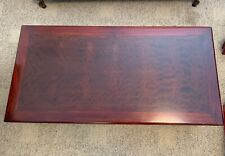 Cherry Wood Finish Coffee Table