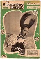 Rivista - Il canzoniere illustrato (Josephine Baker) - 1948