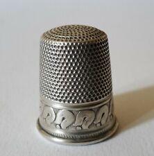 Fingerhut Silber 835