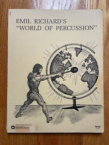 """Emil Richards' """"World of Percussion"""" (1972 paperback)"""