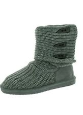 Bearpaw Women's Knit Tall Boots size 7 Extendable boots Brand New!