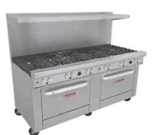 Used Commercial Restaurant Range Stove 72 12 Open Burners South Bend 4721