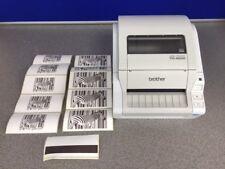 Brother TD-4000 Thermal Label Printer TD4000ZU1 110mm/second 300 x dpi USB