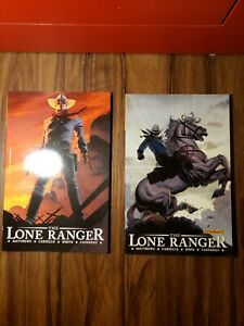 The Lone Ranger Vol 1,vol 2 Now & Forever  TPB  Trade Paperback VF/NM