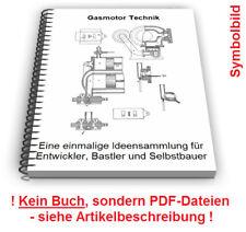 Gasmotor selbst bauen - Regulator Zündung gasbetriebener Motor Technik Patente