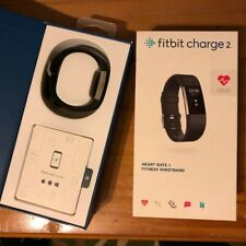 Fitbit Charge 2  Heart Rate Fitness Tracking Wristband - Black Size S/M