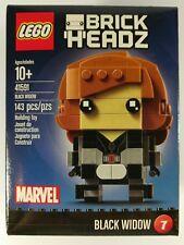 Lego Marvel Brickheadz 41591 Black Widow New #7 Brick Headz Set -ships worldwide