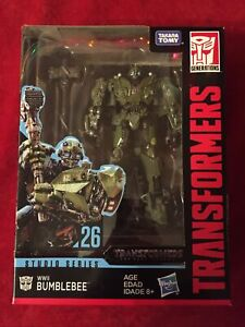 "transformer ""WW2 Bumblebee"" (studio Series) Collectors Figure (new)"