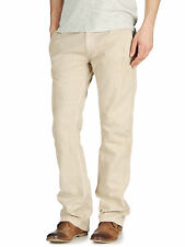 NWT $328 DIESEL PRETENDER COTTON LINEN TROUSERS PANTS SIZE 32 MADE IN ITALY
