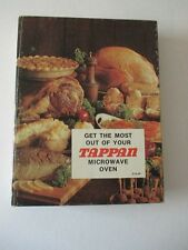 GET THE MOST OUT OF YOUR TAPPAN MICROWAVE OVEN Cookbook 1976 The Tappan Company