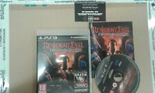 RESIDENT EVIL operation racoon city  PS 3 pal ita