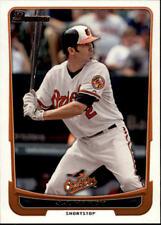 2012 Bowman Baseball #17 J.J. Hardy Baltimore Orioles