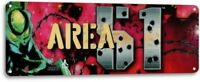 Area 51 Classic Atari Arcade Marquee Game Room Man Cave Bar Decor Metal Tin Sign