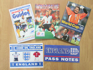 World Cup 1998 : Football Memorabilia Collection : Guides : Pass Notes : Sticker