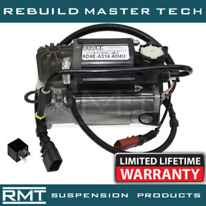 Audi A8 Quattro D3/4E 2002-2009 NEW Air Suspension Compressor Pump & Relay Kit