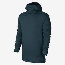 Nike Tech Fleece Funnel Neck Hoodie  ~ 805214 346 ~ Size Large