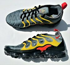 huge selection of f2c3c fcbe0 Nike Air Vapormax Plus 924453-012 Cool Grey Team Orange Yellow Men s Size 9