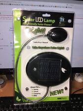 Solar LED Study Desk Table Lamp Adjustable Gooseneck NEW