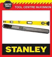 STANLEY 43-548B FATMAX BOX 4ft / 1200mm 3-VIAL SPIRIT LEVEL WITH BAG