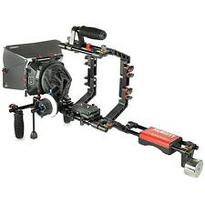Filmcity FC-03 Shoulder Rig MB-600 Matte Box Follow Focus for DSLR Video Cameras