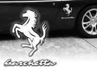Auto Aufkleber Fiat Barchetta Sticker Decals JDM Tattoo Tuning Tuningaufkleber