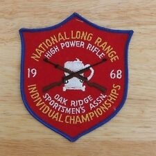 1968 National Long Range High Power Rifle Championship Patch