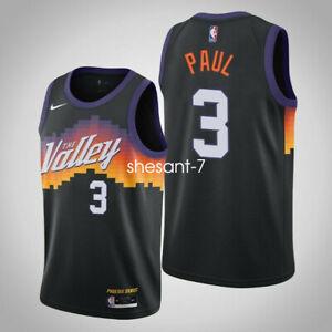 Phoenix Suns Chris Paul 3 City Jersey The Valley
