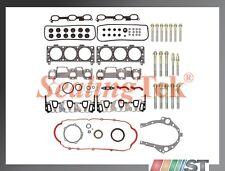 Fit 05-09 GM 3400 3.4L 207 V6 VIN F Engine Full Gasket Set + Cylinder Head Bolts