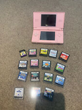 NINETENDO DS LITE PINK WITH 15 GAMES