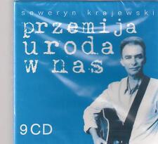 SEWERYN KRAJEWSKI - PRZEMIJA URODA W NAS 2005 TOP RARE 9CD BOX CZERWONE GITARY