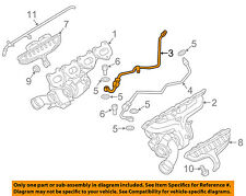 PORSCHE OEM 2016 Cayenne Turbocharger Turbo-Pressure Line Right 94810708660