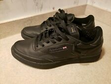 Reebok Classic Club C 85 Black Charcoal Mens Sneakers Tennis Shoes Size 10