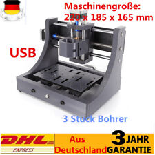 3Axis Mini Mill USB CNC1208 Router Wood Carving Engraving Machine PCB Milling DE