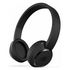 iFrogz Coda Wireless Bluetooth On-Ear Headphones with Built-In Microphone, Black