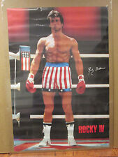 Rocky IV 1985 Balboa ORIGINAL Vintage Poster 6617
