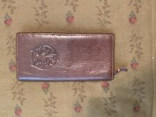 Gold Pfeil Brown Leather Wallet